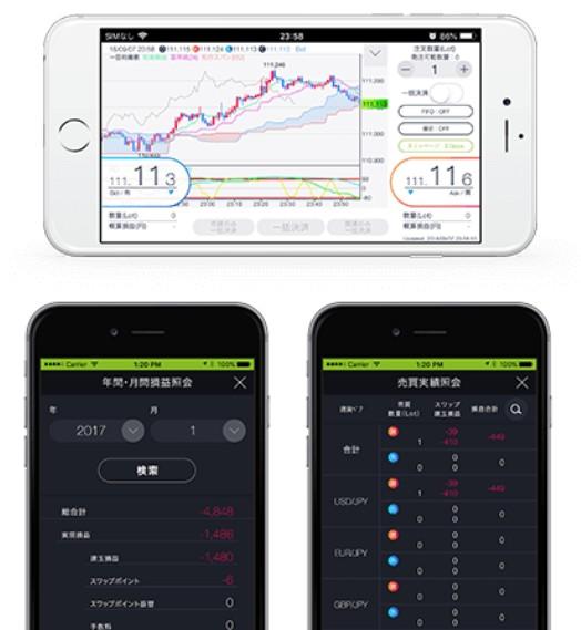 DMMFXスマートフォンアプリ